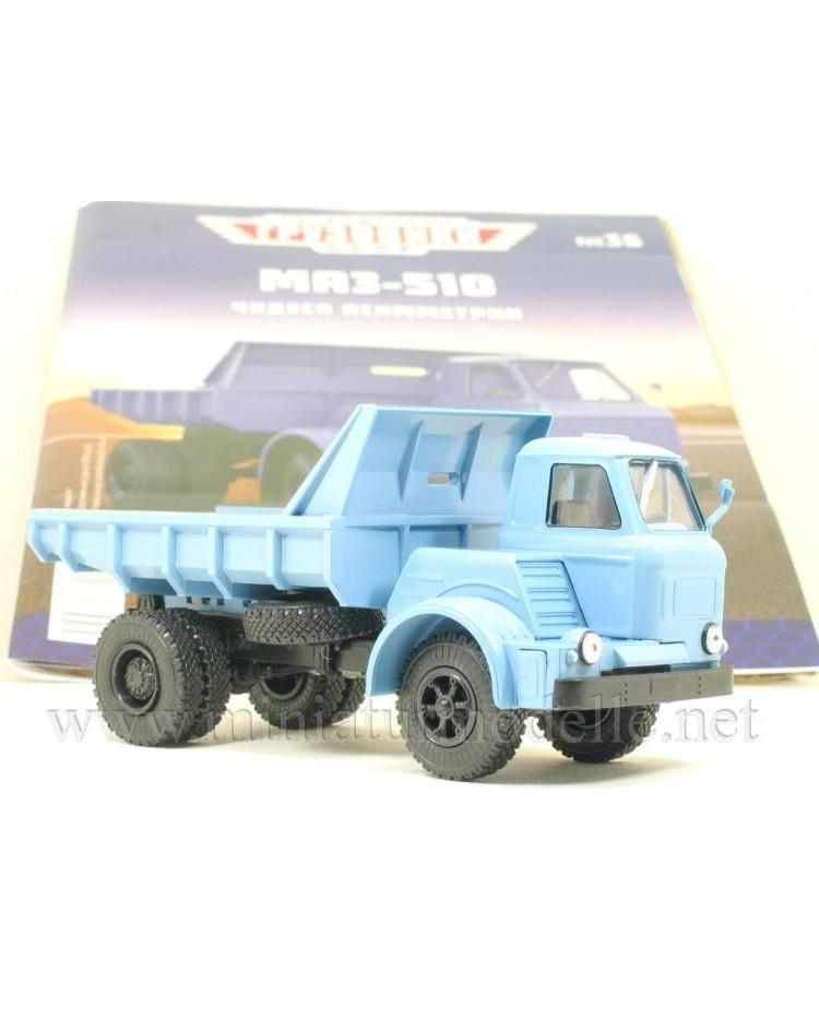 1:43 MAZ 510 dump with magazine #36