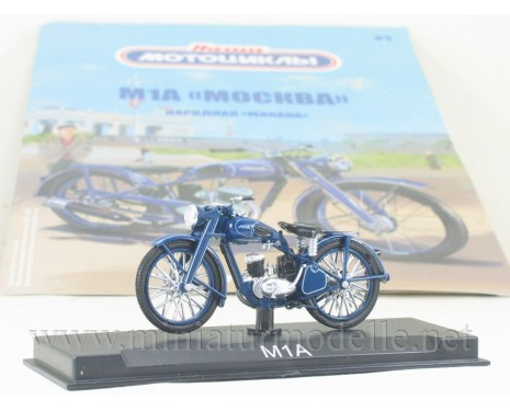 1:24 M1A Moscow motorcycle with magazine #3