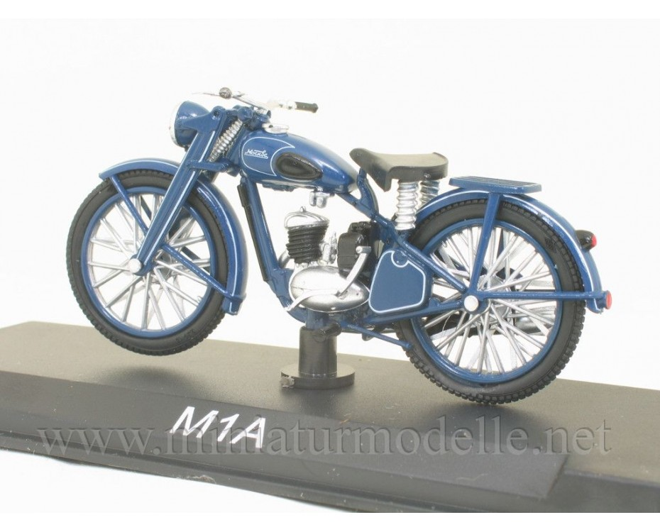 1:24 M1A Moscow motorcycle with magazine #3,  Modimio Collections by www.miniaturmodelle.net