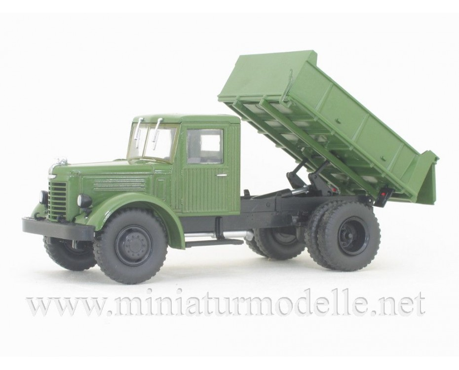 1:43 YaAZ 205 dump military with magazine #35,  Modimio Collections by www.miniaturmodelle.net