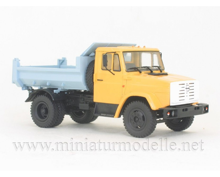 1:43 ZIL 4331 MMZ 4508 dump with magazine #38,  Modimio Collections by www.miniaturmodelle.net