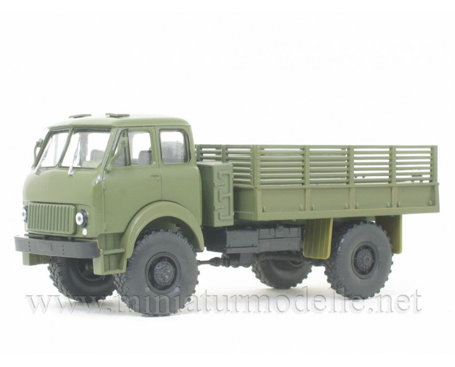 1:43 MAZ 505 load platform military with magazine #39,  Modimio Collections by www.miniaturmodelle.net