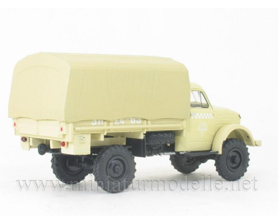 1:43 GAZ 63 Taxi load platform, 102644, Auto History - Aist by www.miniaturmodelle.net