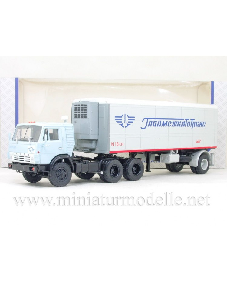 1:43 KAMAZ 54112 with refrigerated trailer Alka N13CH