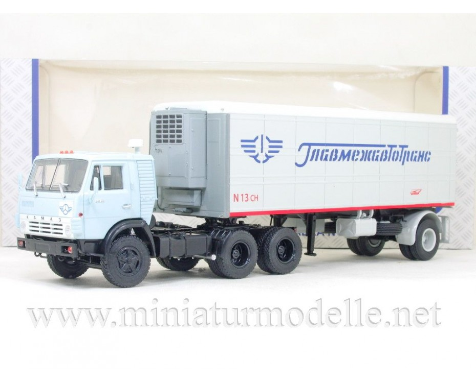 1:43 KAMAZ 54112 with refrigerated trailer Alka N13CH, 102699, Auto History - Aist by www.miniaturmodelle.net