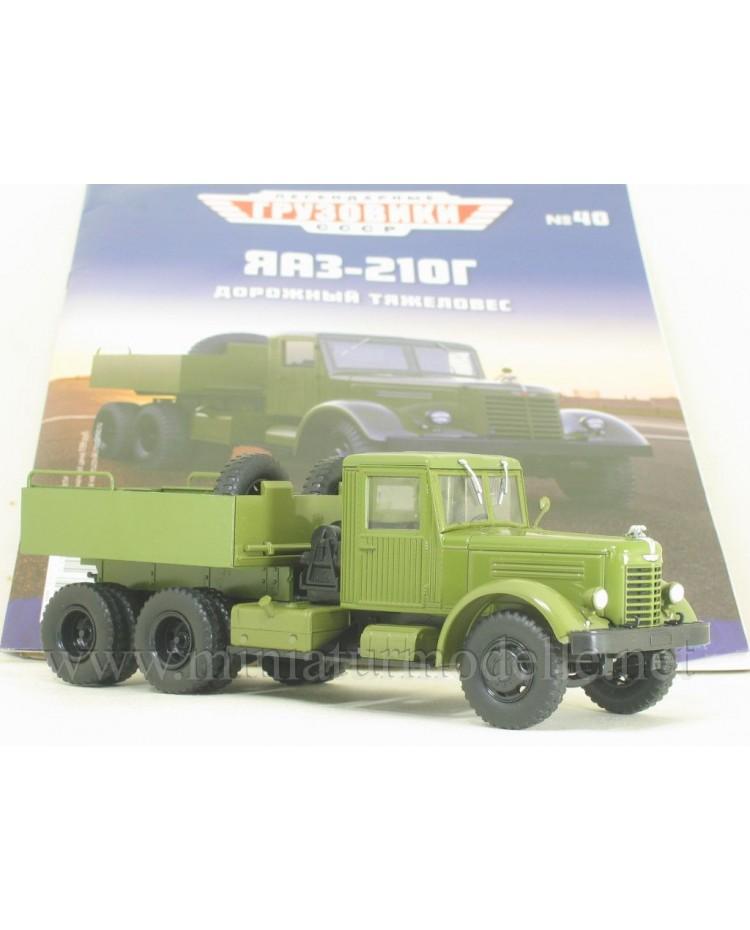 1:43 YaAZ 210 G ballast tractor military with magazine #40