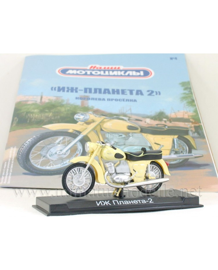 1:24 Izh Planeta 2 motorcycle with magazine #4
