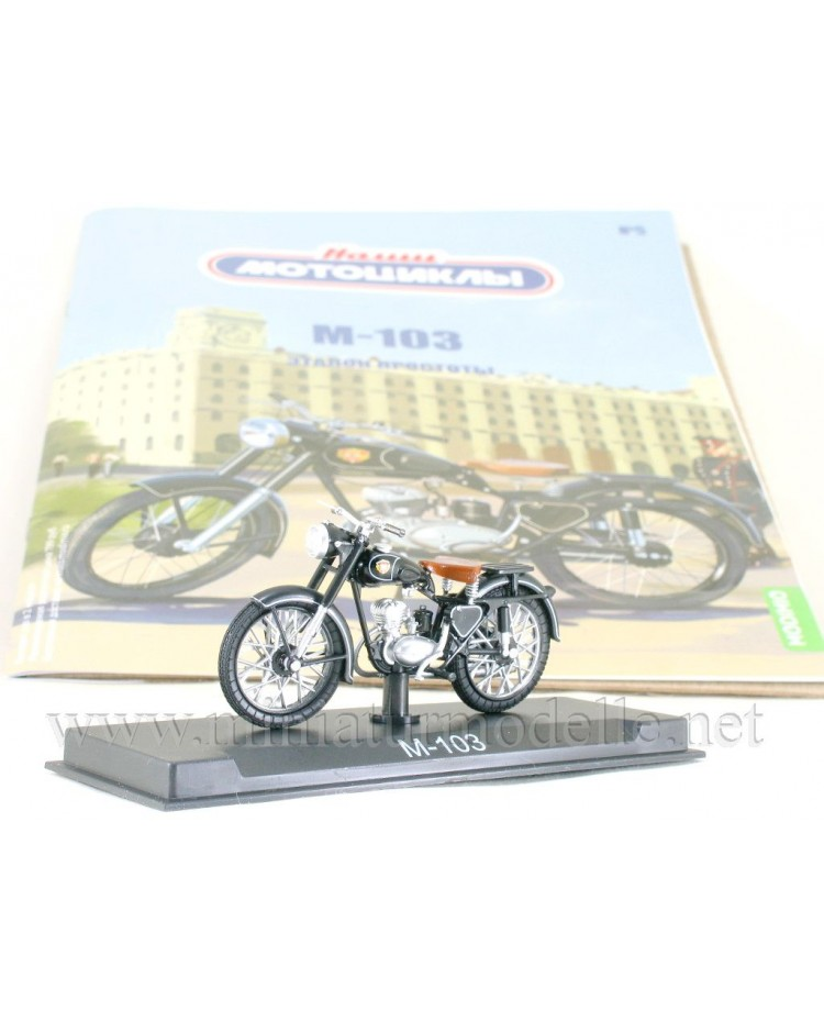 1:24 M 103 motorcycle with magazine #5