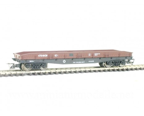1:120 TT 3681 Low side board car with metal boards of the CCCP livery, era 4