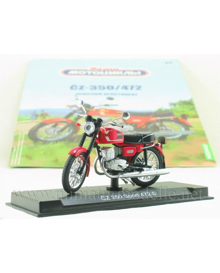 1:24 ČZ 350 / 472 motorcycle with magazine #8