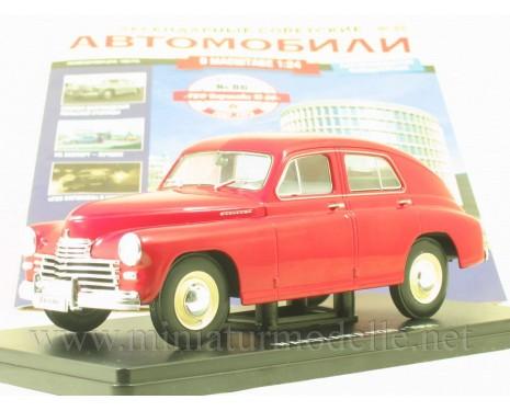 1:24 FSO Warszawa M20 (1951) with magazine #86