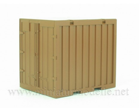 1:43 Container 5T, brown