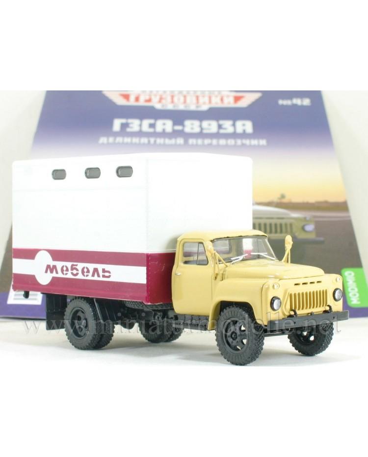 1:43 GAZ 52 furniture truck GZSA 893 A with magazine #42