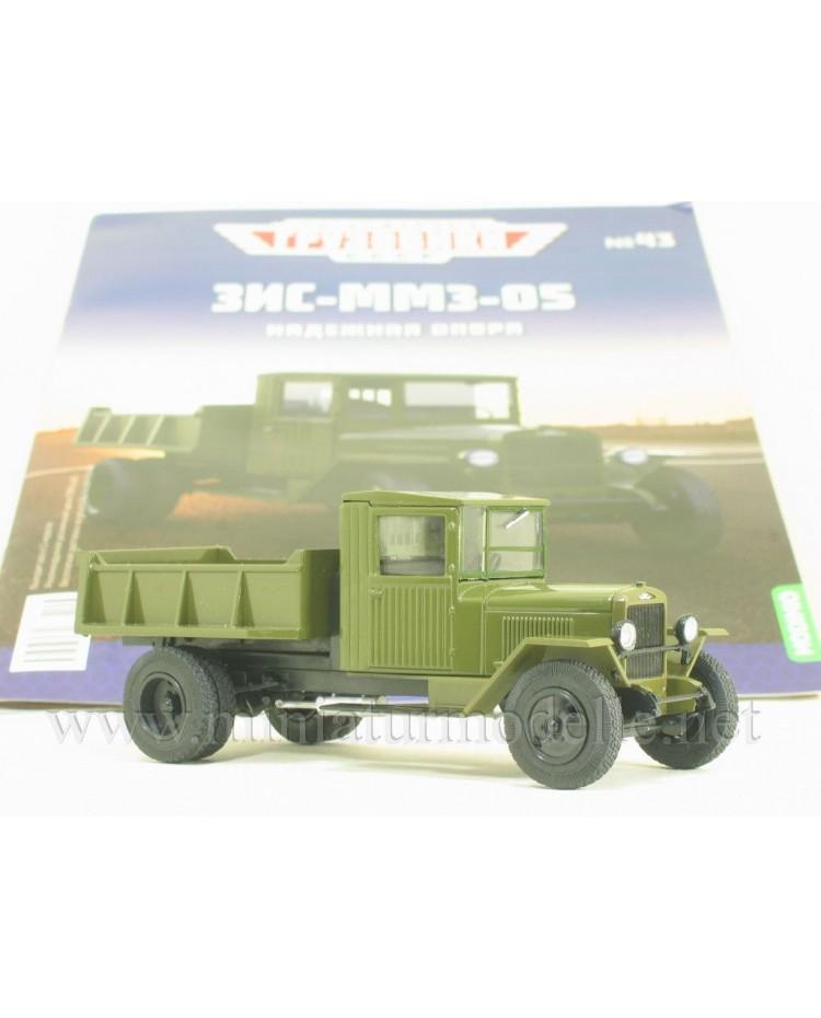 1:43 ZIS 5 dump MMZ 05 military with magazine #43