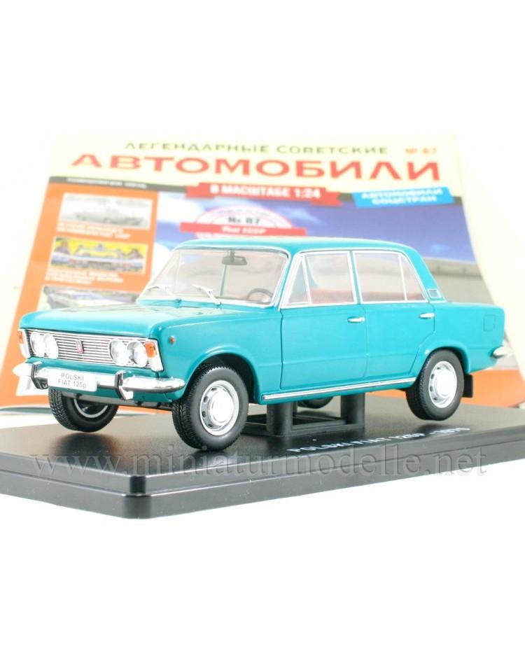 1:24 Polski Fiat 125 P with magazine #87