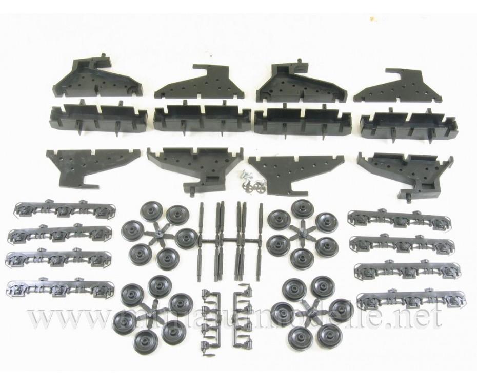 1:87 H0 TE3 first series twin-unit diesel locomotive  dummy kit, SZD, 3-4 era,  Volus by www.miniaturmodelle.net