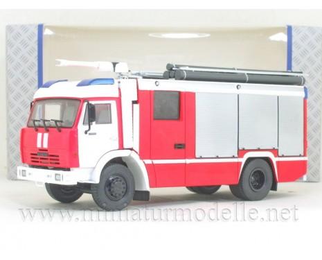 1:43 KAMAZ 43502 fire engine AC-3,2-40 Rosenbauer