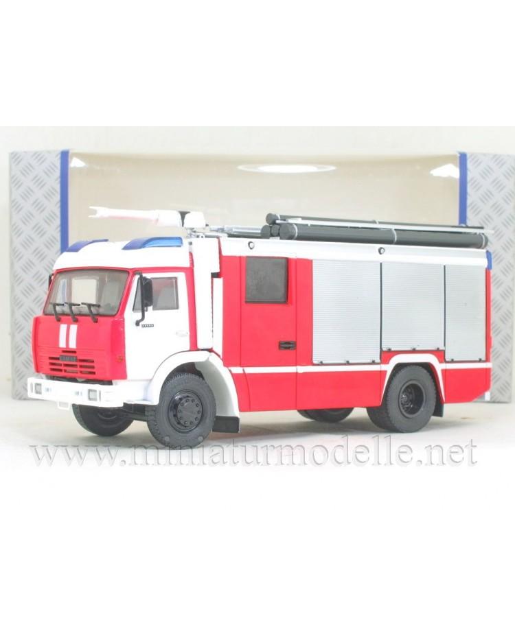1:43 KAMAZ 43502 fire engine AC-3,2-40