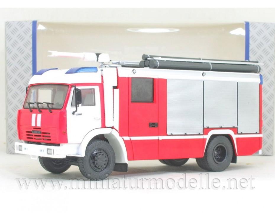 1:43 KAMAZ 43502 fire engine AC-3,2-40, 102019, Auto History - Aist by www.miniaturmodelle.net