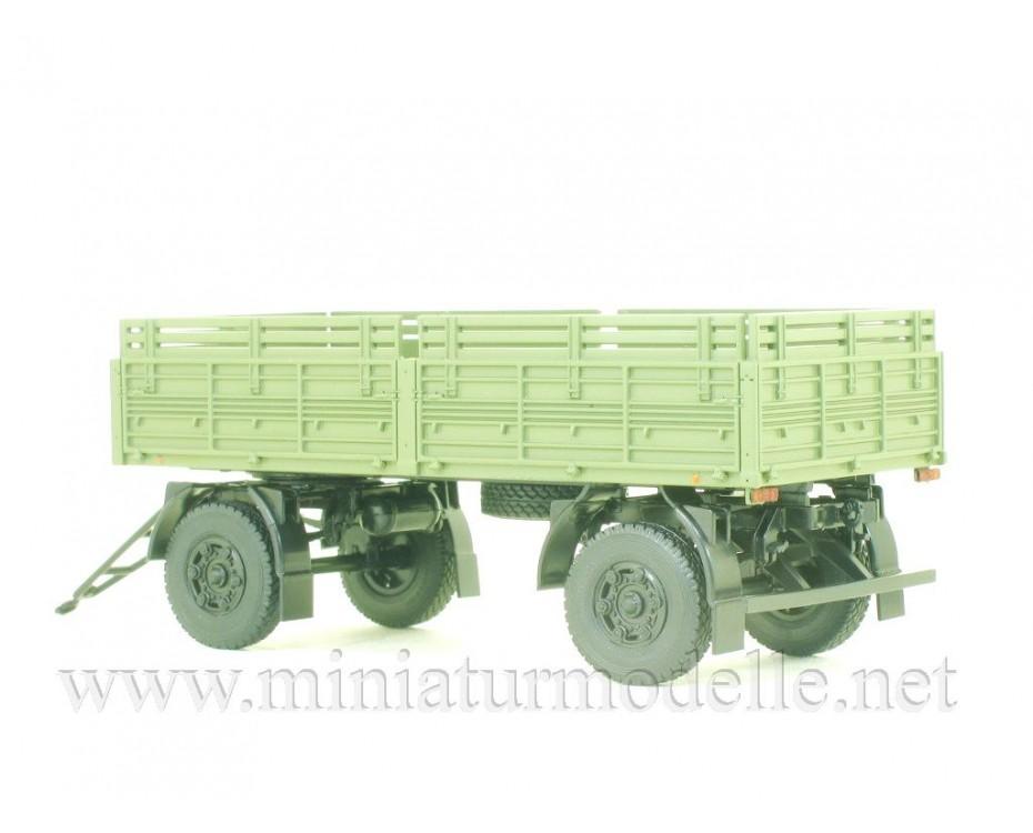 1:43 MAZ 8926 load platform trailer with high body, military, 102453, Auto History - Aist by www.miniaturmodelle.net
