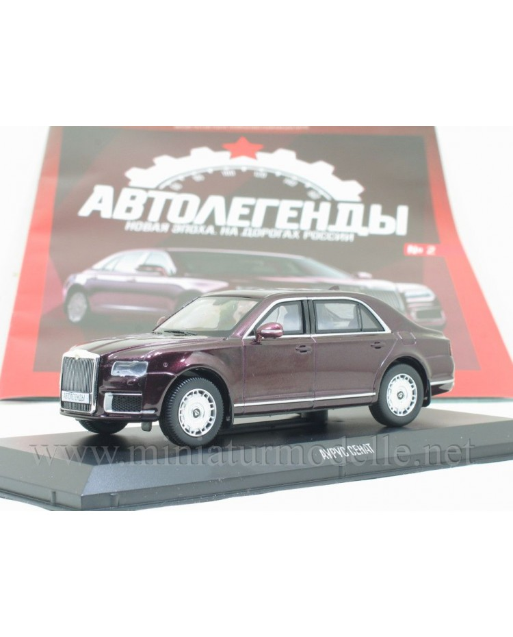 1:43 Aurus Senat limousine with magazine #2