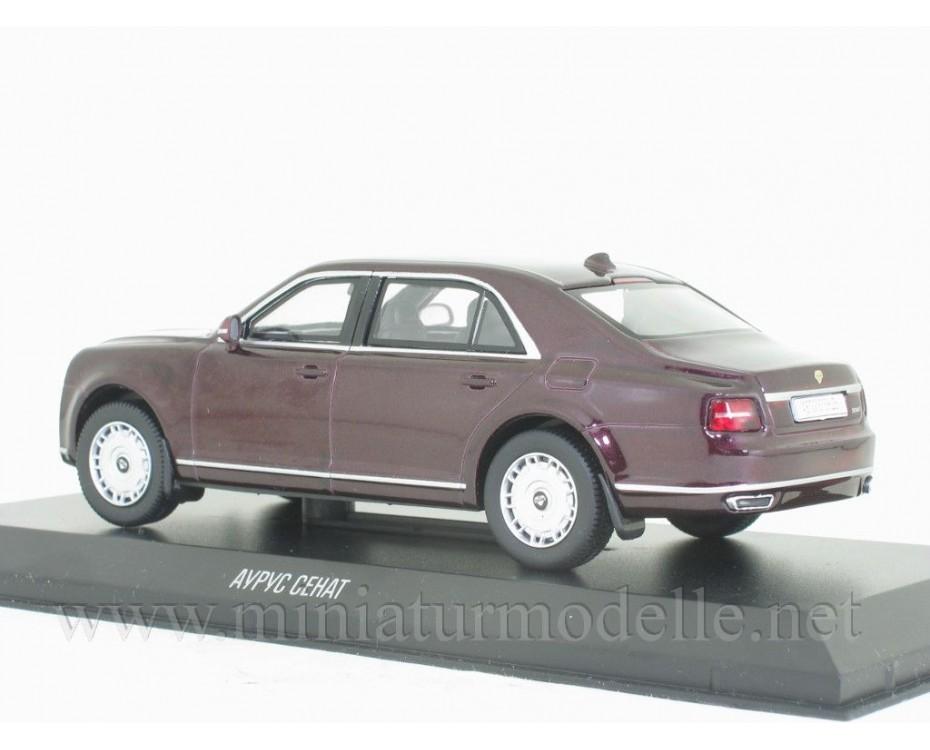 1:43 Aurus Senat limousine with magazine #2,  De Agostini by www.miniaturmodelle.net