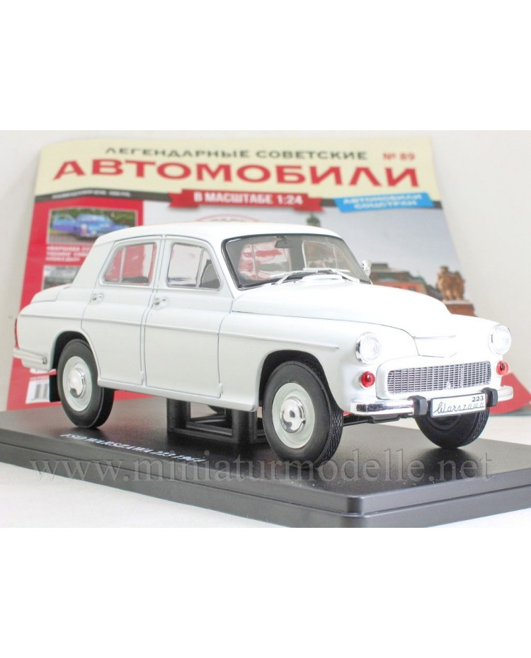 1:24 FSO Warszawa 223 (1964) with magazine #89