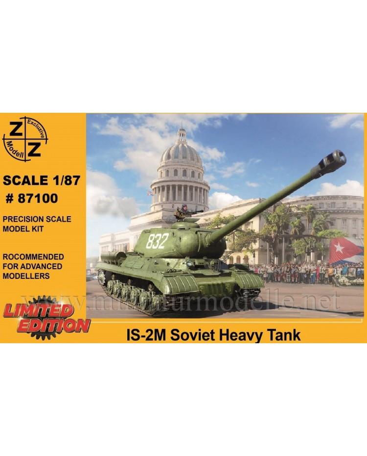 H0 1:87 IS-2M sowjetisches Kampfpanzer Stalinpanzer, Militär, Kleinserien