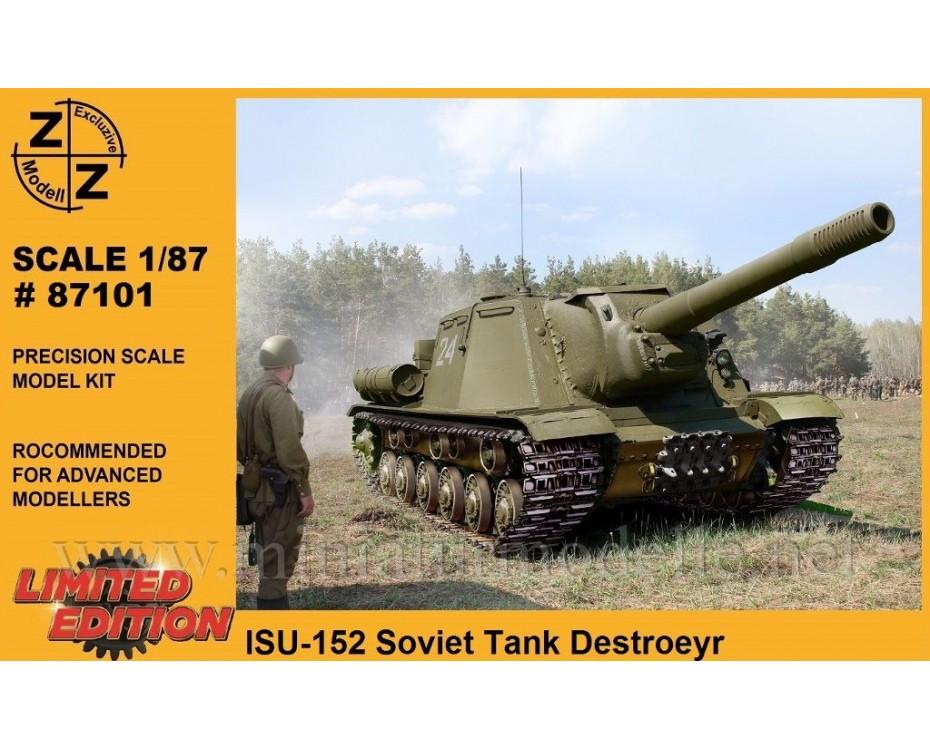 H0 1:87 ISU-152 sowjetisches Jagdpanzer, Militär, Kleinserien