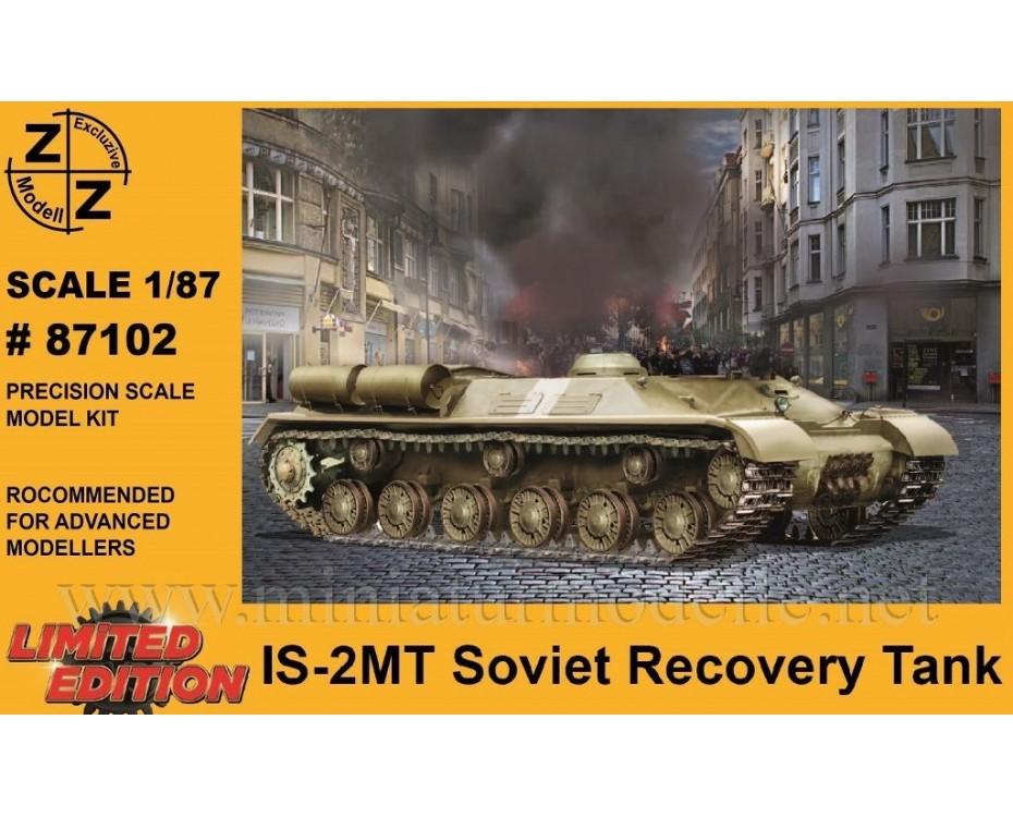 H0 1:87 IS-2MT Sowjetische Bergepanzer, Militär, Kleinserien