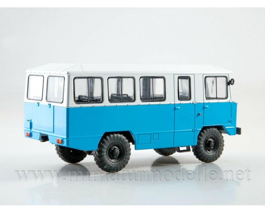 1:43 APP 66 bus with magazine #17,  Modimio Collections by www.miniaturmodelle.net