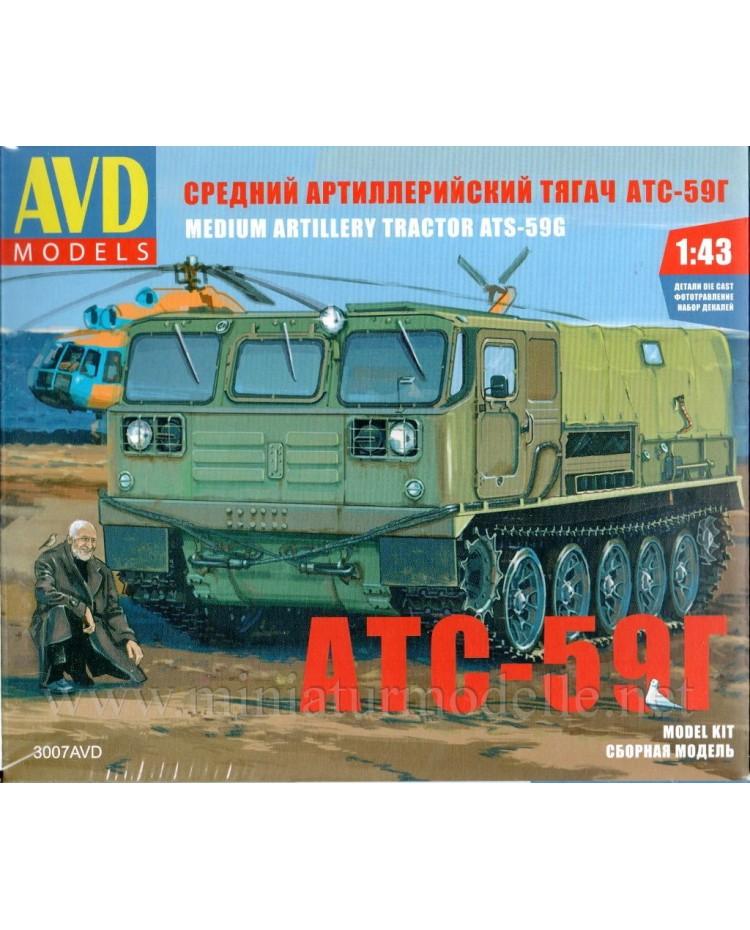 1:43 ATS 59 G artillery tractor, military kit
