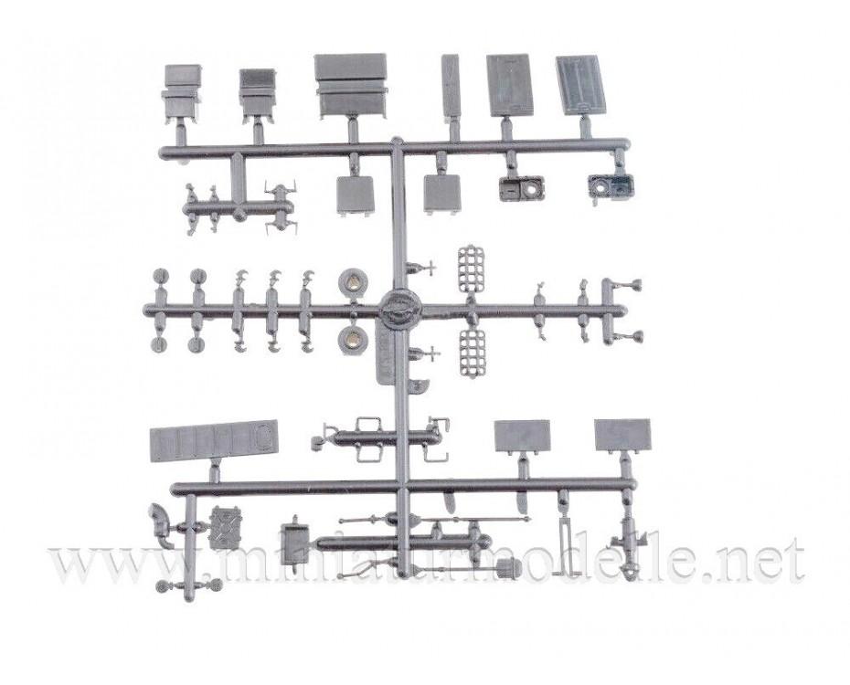 1:43 ATS 59 G artillery tractor, military kit, 3007AVD, AVD Models by www.miniaturmodelle.net