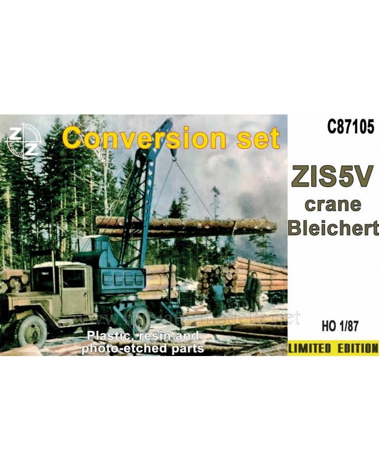 H0 1:87 ZIS 5 V Crane Bleichert, small batches conversion kit