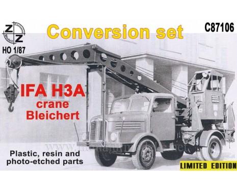 H0 1:87 IFA H3A Crane Bleichert, small batches conversion kit