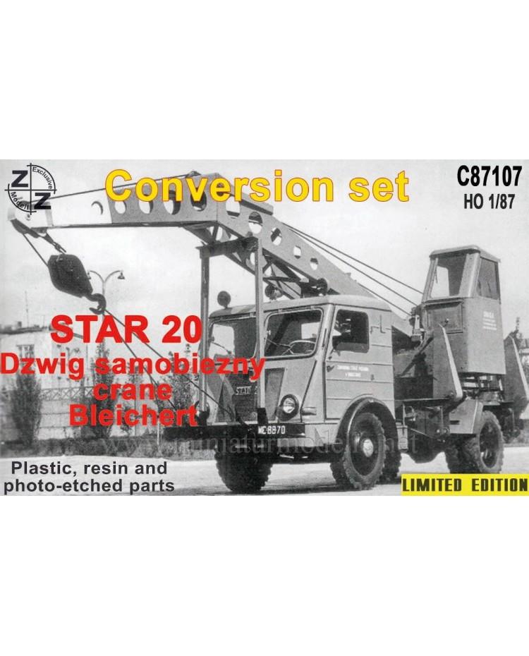 H0 1:87 Star 20 Crane Bleichert, small batches conversion kit