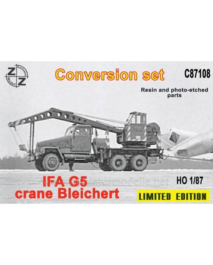 H0 1:87 IFA G5 Crane Bleichert, small batches conversion kit