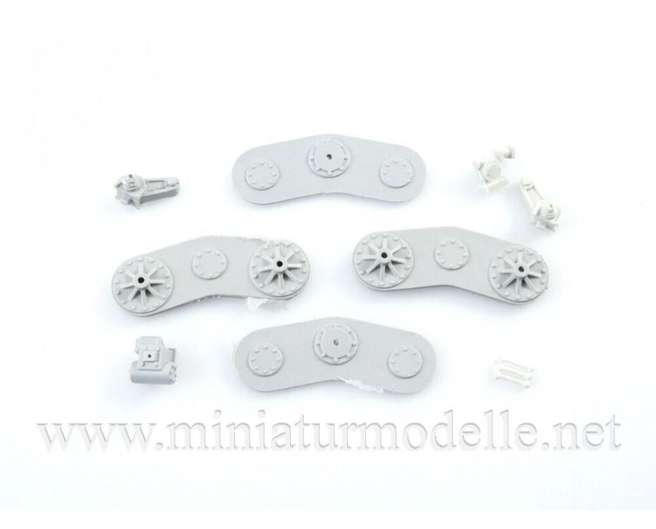 1:43 D 598 Grader, small batches model kit, 8011AVD, AVD Models by www.miniaturmodelle.net