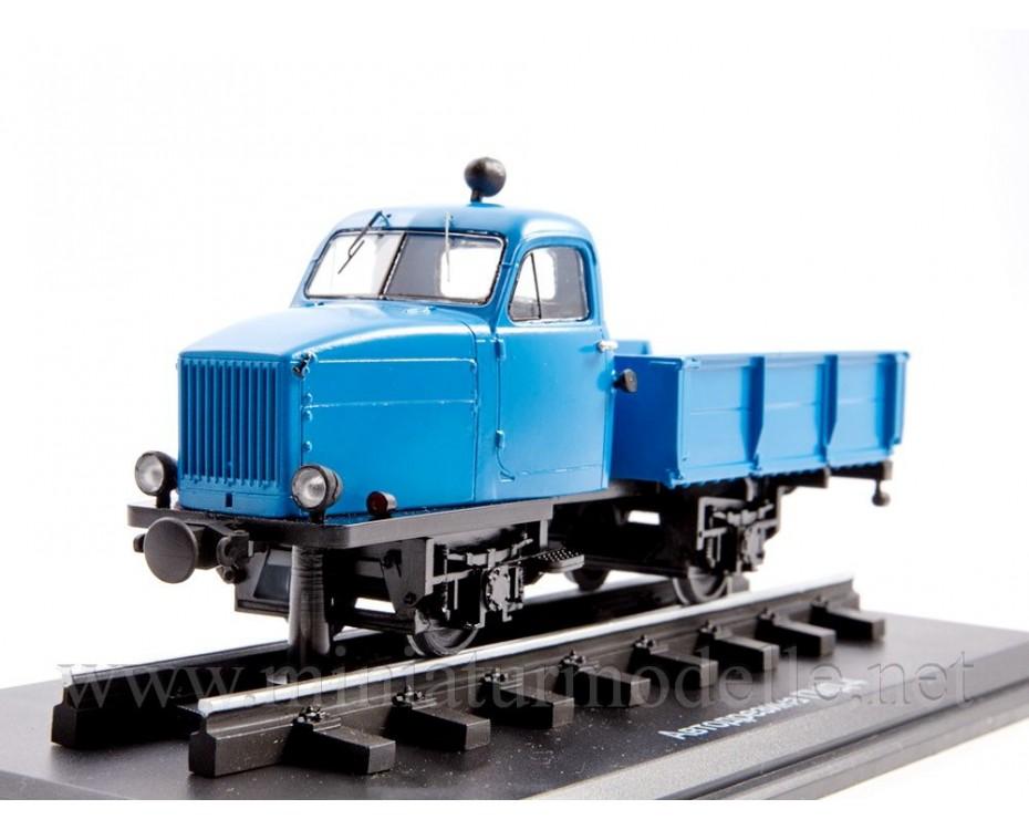 1:43 GMD 4 narrow gauge motorized draisine, small batches model, 0143MP, ModelPro by www.miniaturmodelle.net
