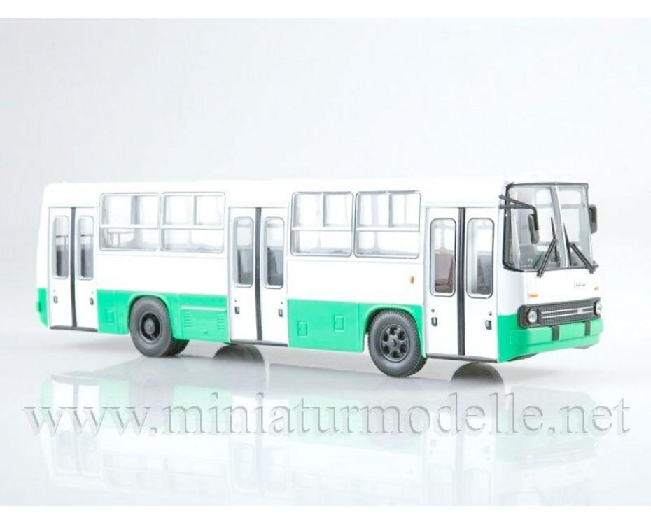 1:43 Ikarus 260.06 Bus with magazine #25,  Modimio Collections by www.miniaturmodelle.net