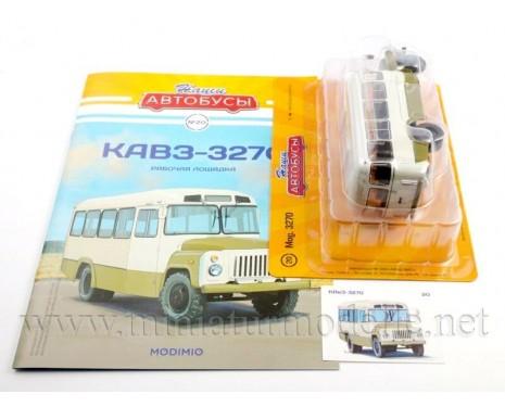 1:43 KAVZ 3270 bus with magazine #20