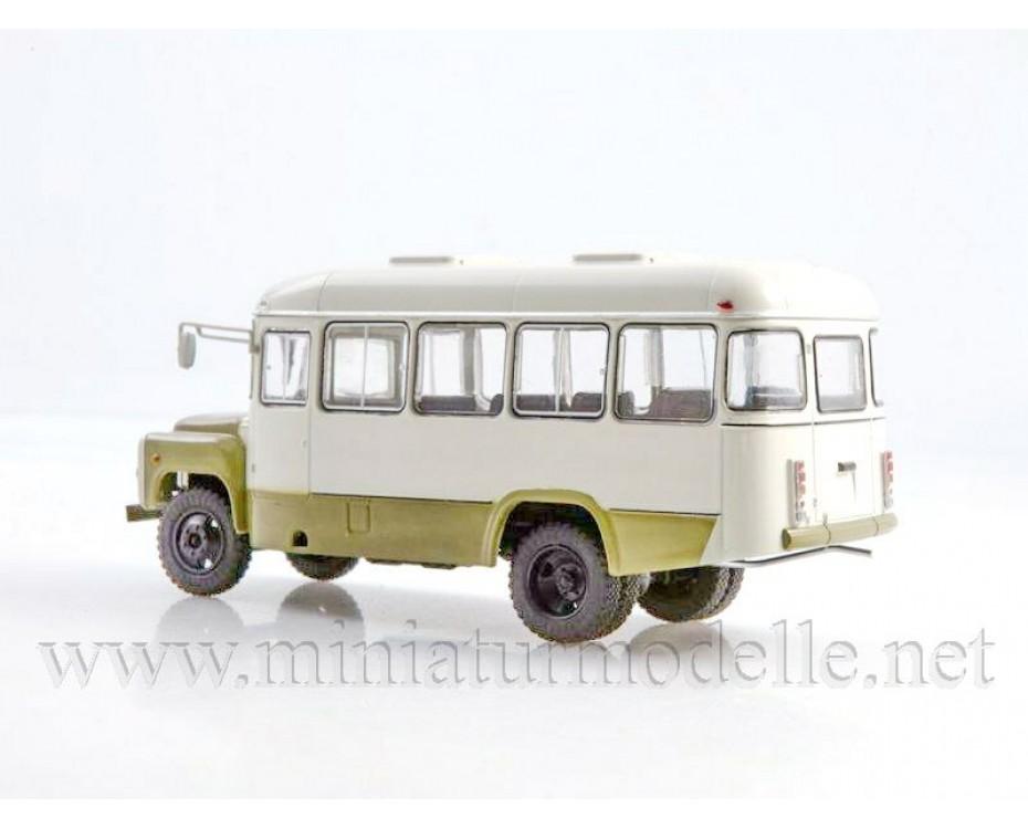 1:43 KAVZ 3270 bus with magazine #20,  Modimio Collections by www.miniaturmodelle.net