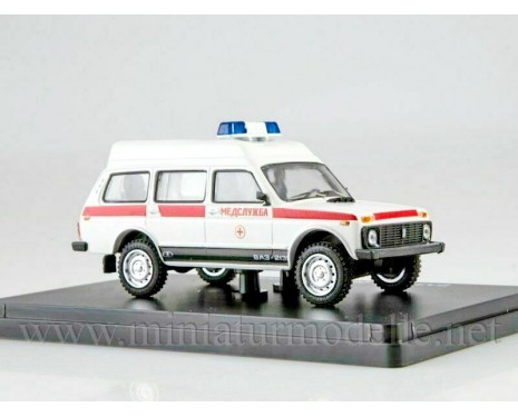 1:43 VAZ 2131-05 Ambulance, small batches model
