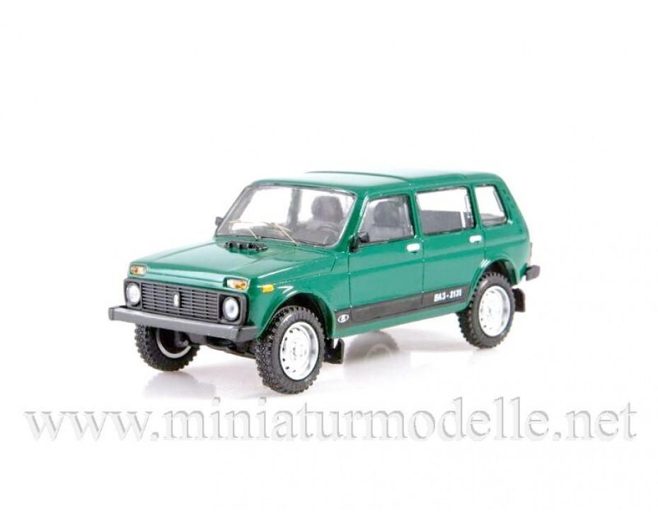1:43 VAZ 2131, small batches model, LST004, Lastochka by www.miniaturmodelle.net