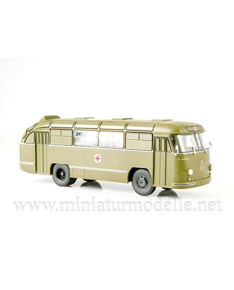 1:43 LAZ 695 B field hospital bus with magazine #1