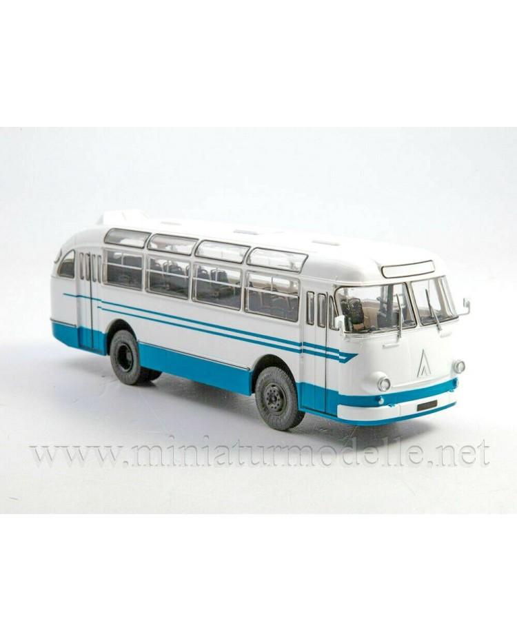 1:43 LAZ 695 E Bus with magazine #29