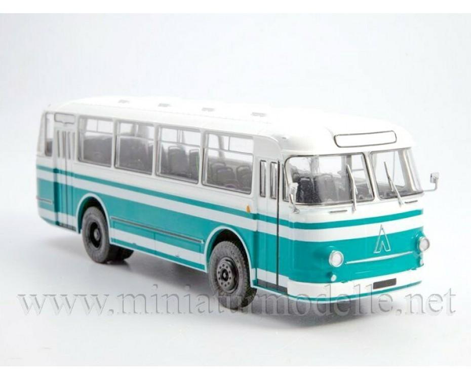 1:43 LAZ 695 M Bus with magazine #23,  Modimio Collections by www.miniaturmodelle.net