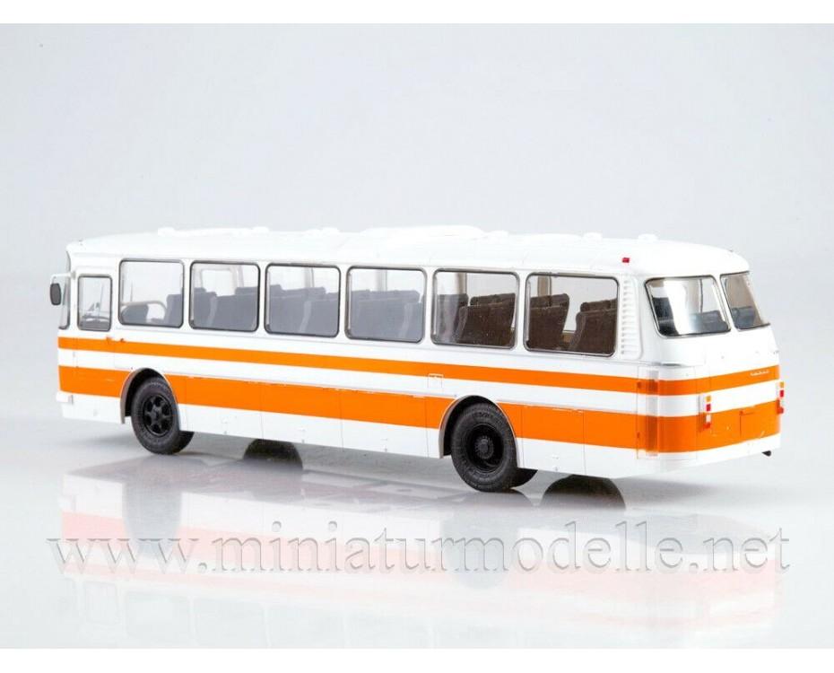 1:43 LAZ 699 R Bus with magazine #15,  Modimio Collections by www.miniaturmodelle.net