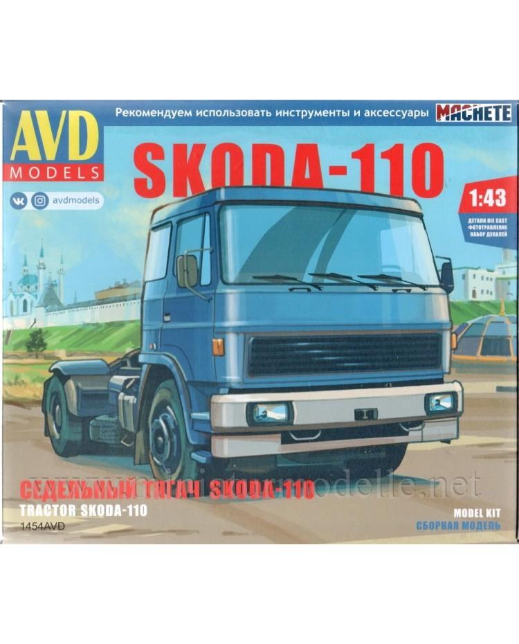 1:43 LIAZ 110 Skoda tractor unit, kit