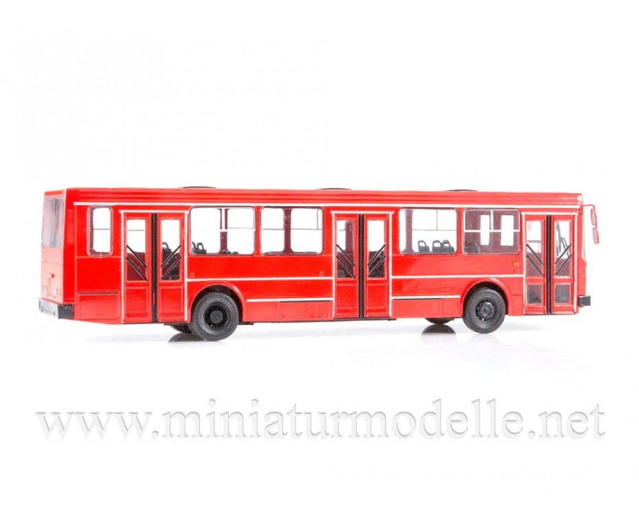 1:43 LIAZ 5256 bus with magazine #16,  Modimio Collections by www.miniaturmodelle.net